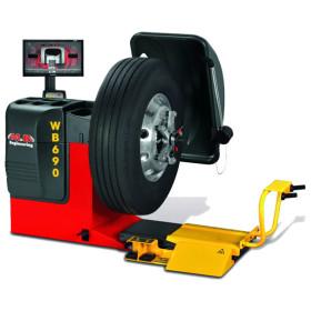 Balanceadora digital WB 690 – M&B ENGINEERING