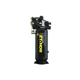 Compresora de aire industrial Vertical de 5HP (Piston)- SCHULZ
