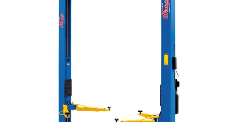 Elevador o rampa asimétrica de 02 postes – WINTEK