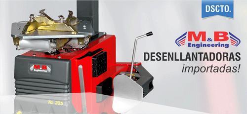 Desenllantadora semiautomática TC325IT – M&B